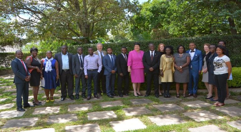 US Ambassador Recognizes LUANAR's First Dietetics Graduates