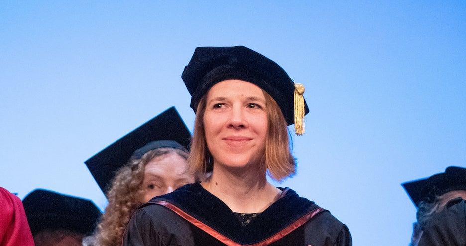 Sara Folta Wins the Friedman School's Faculty Award