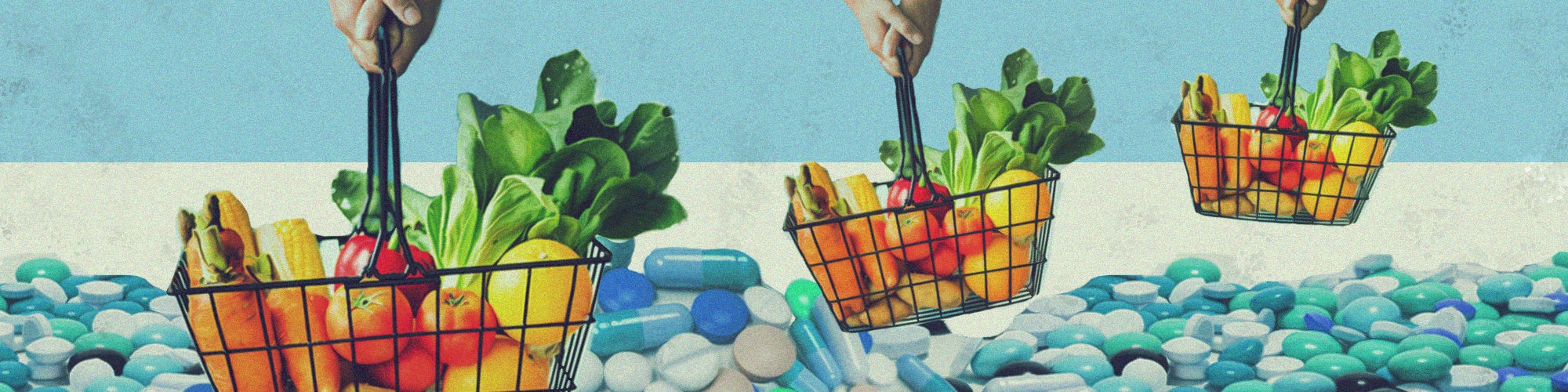Nutrients From Food, Not Supplements