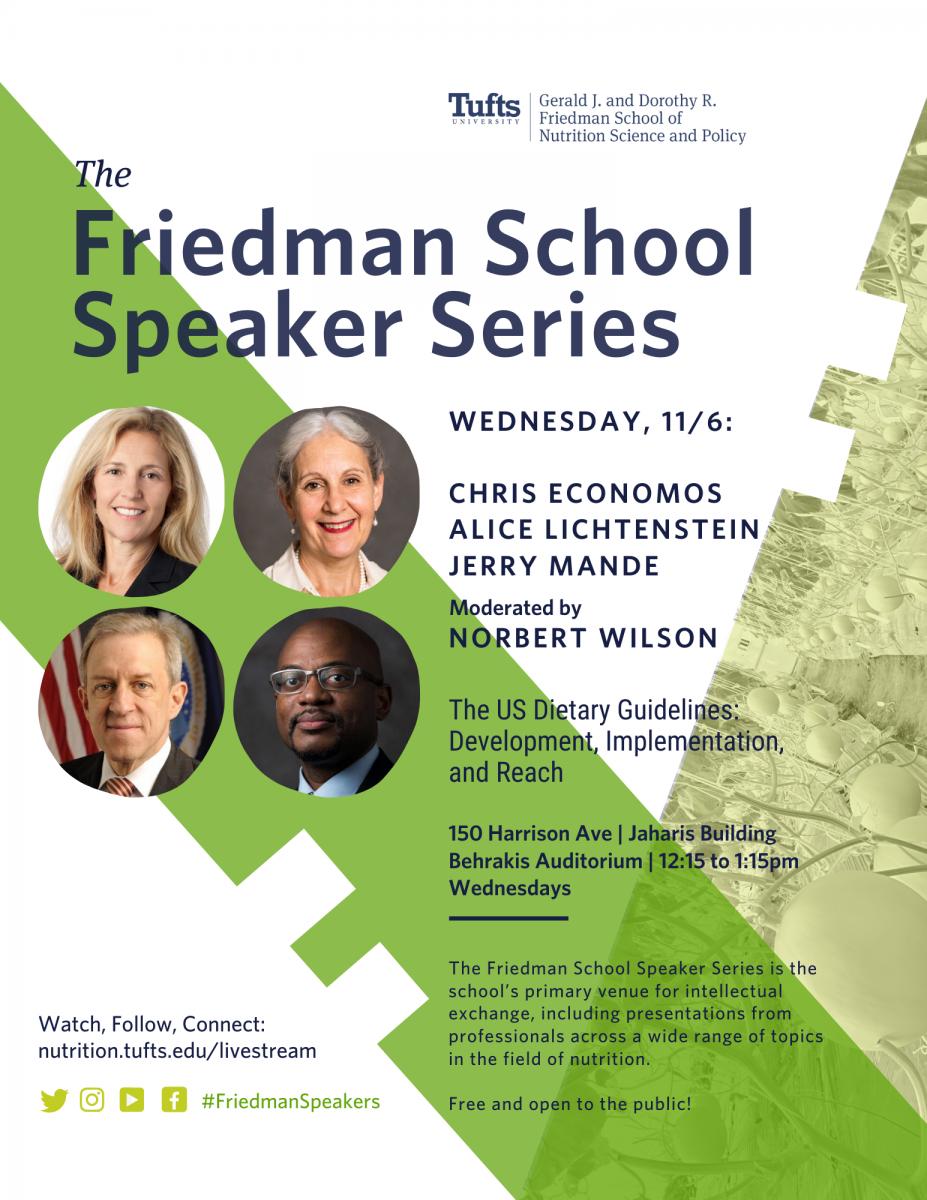 Friedman Speaker Series - Chris