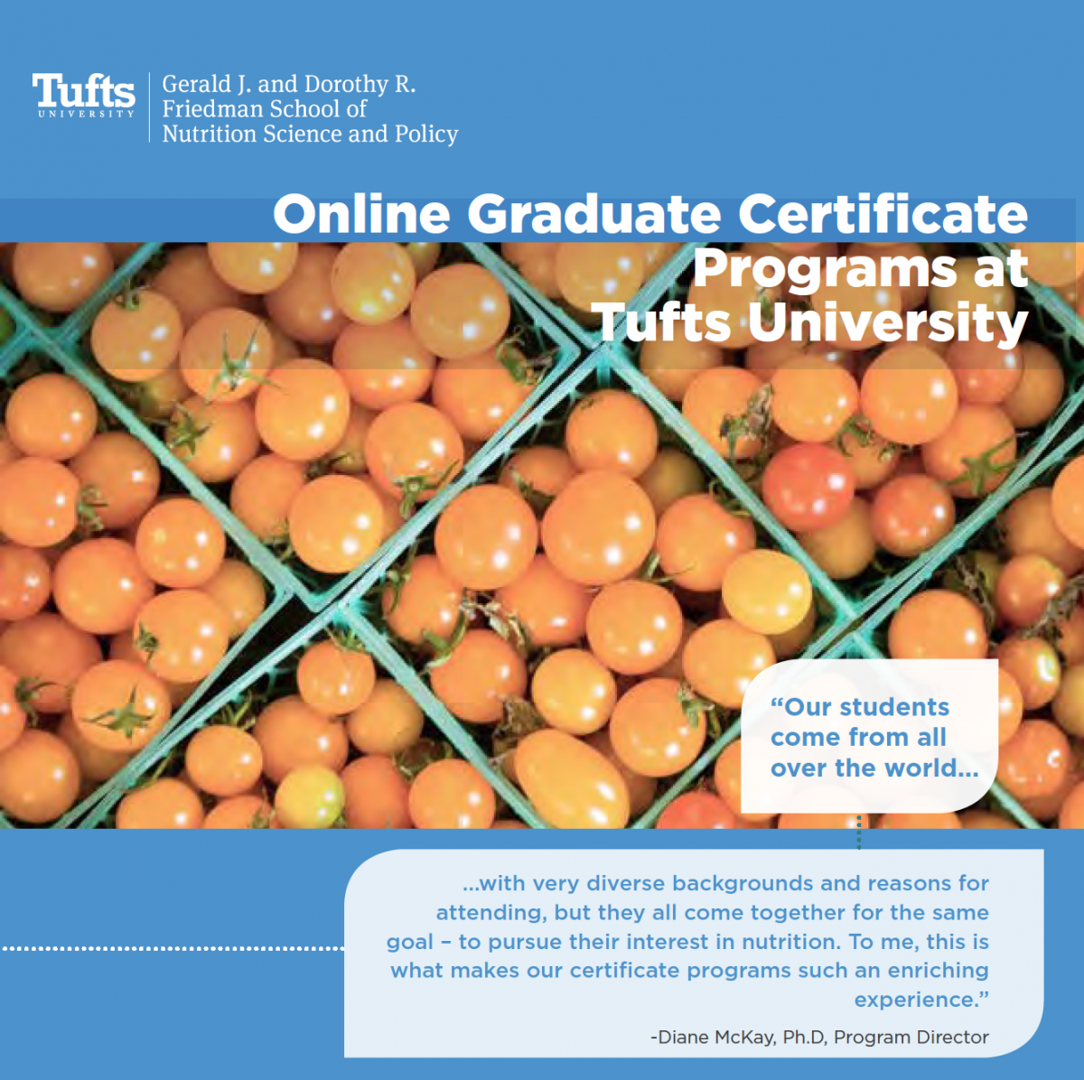 Online graduate certificate programs friedman school of build your own certificate 1betcityfo Gallery