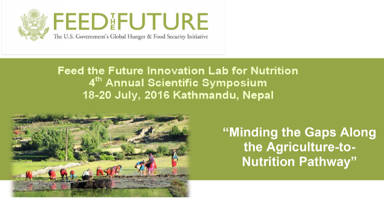 4th Annual Symposium on Agriculture to Nutrition in Nepal