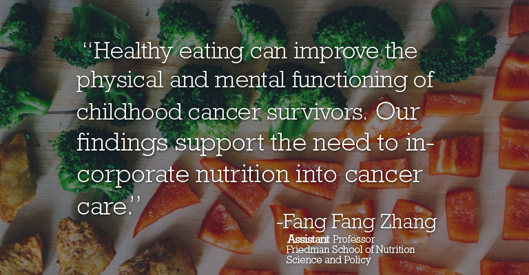 Study finds link between childhood cancer and poor dietary quality in adulthood