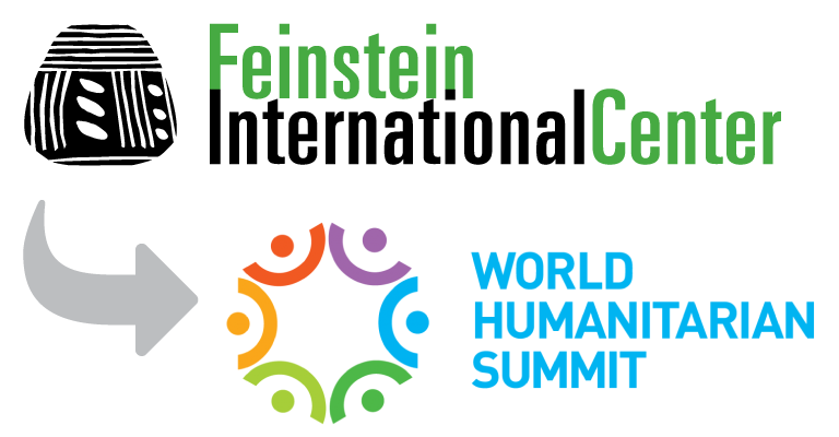 Feinstein Faculty on Stage at the World Humanitarian Summit