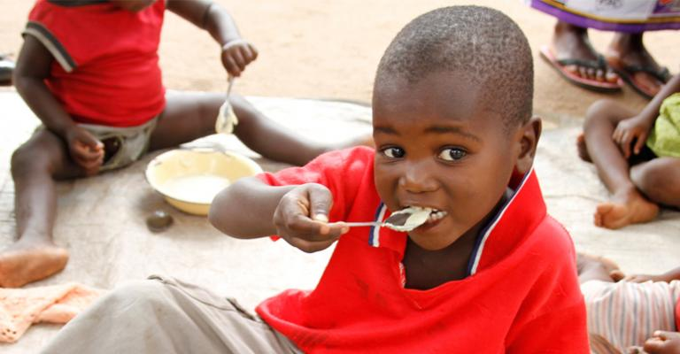 Mothers in Malawi Improve Children's Nutrition
