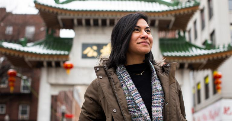 #OurTufts Features Student Nayla Bezares