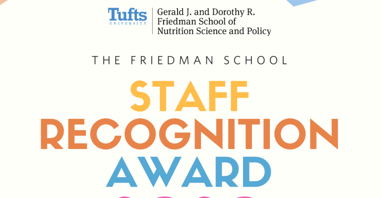 2020 Friedman School Staff Recognition Award Recipient and Nominees